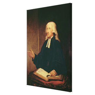 Portrait of John Wesley  1788 Canvas Print