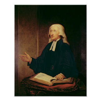 Portrait of John Wesley  1788 Poster