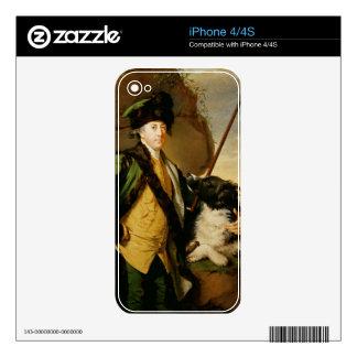 Portrait of John Whetham of Kirklington (1731-81) iPhone 4 Skin