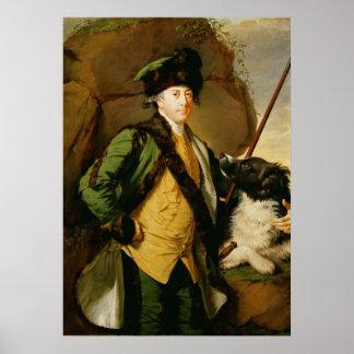 Portrait of John Whetham of Kirklington (1731-81) Print