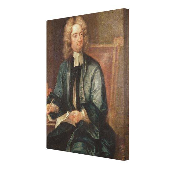 Portrait of Jonathan Swift  c.1718 Canvas Print