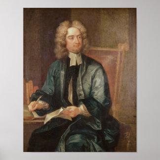 Portrait of Jonathan Swift  c.1718 Poster