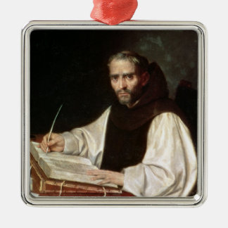 Portrait of Jose de Siguenza, prior and librarian Metal Ornament