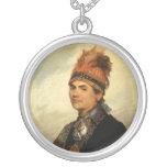 Portrait of Joseph Brant by Gilbert Stuart Necklaces