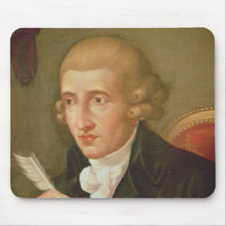Portrait of Joseph Haydn Mouse Pads