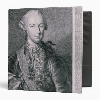 Portrait of Joseph II 3 Ring Binders