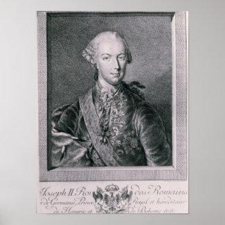 Portrait of Joseph II Poster
