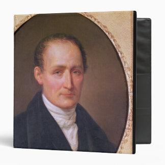 Portrait of Joseph Nicephore Niepce  1854 3 Ring Binder