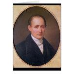 Portrait of Joseph Nicephore Niepce  1854 Card