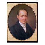 Portrait of Joseph Nicephore Niepce  1854 Postcard