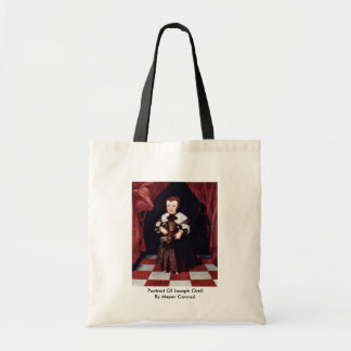 Portrait Of Joseph Orell By Meyer Conrad Canvas Bag