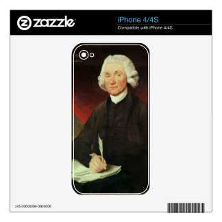 Portrait of Joseph Priestley (1733-1804) Decal For The iPhone 4