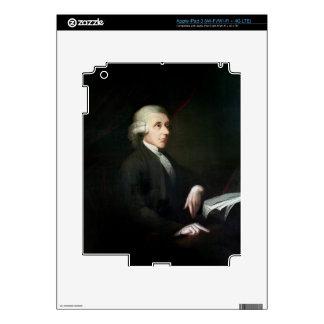 Portrait of Joseph Priestley (1733-1804) (oil on c iPad 3 Decal