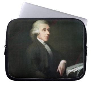 Portrait of Joseph Priestley (1733-1804) (oil on c Computer Sleeves