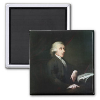 Portrait of Joseph Priestley (1733-1804) (oil on c Magnet