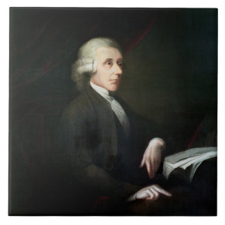 Portrait of Joseph Priestley (1733-1804) (oil on c Tile