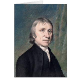 Portrait of Joseph Priestley , c.1797 Greeting Card