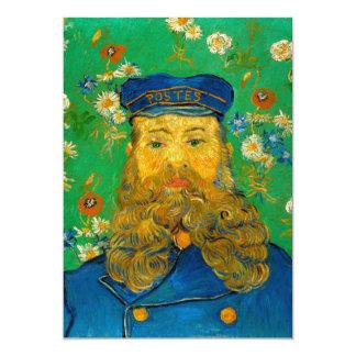 "Portrait of Joseph Roulin by Vincent Van Gogh 5"" X 7"" Invitation Card"