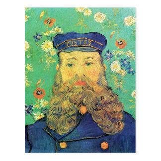 Portrait of Joseph Roulin by Vincent van Gogh Postcard