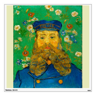 Portrait of Joseph Roulin by Vincent Van Gogh Wall Decals