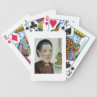 Portrait of Josephine, the artist's second wife, c Bicycle Playing Cards