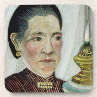 Portrait of Josephine, the artist's second wife, c Drink Coaster