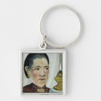 Portrait of Josephine, the artist's second wife, c Keychain