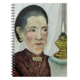 Portrait of Josephine, the artist's second wife, c Notebook