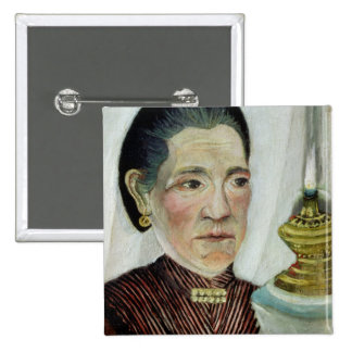 Portrait of Josephine, the artist's second wife, c Pinback Button