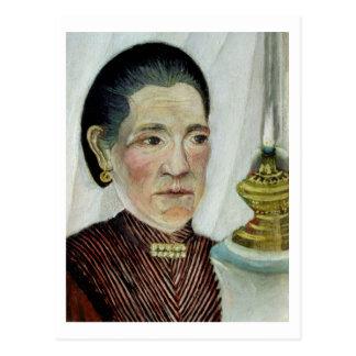 Portrait of Josephine, the artist's second wife, c Postcard