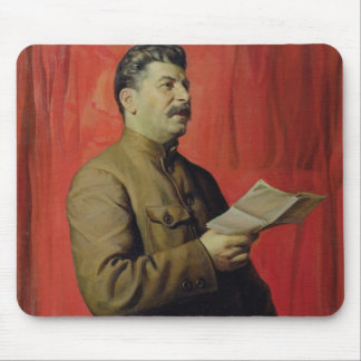 Portrait of Josif Stalin, 1933 Mouse Pad