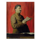 Portrait of Josif Stalin, 1933 Postcard
