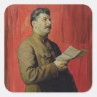 Portrait of Josif Stalin, 1933 Square Sticker