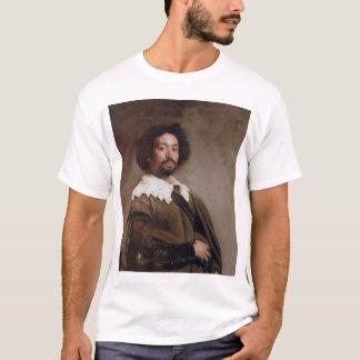 Portrait of Juan de Pareja - c. 1650 - Diego Velas T-Shirt
