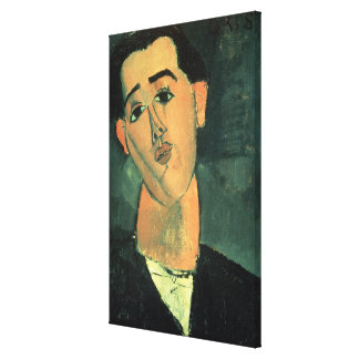 Portrait of Juan Gris (1887-1927) 1915 (oil on can Canvas Print