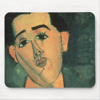 Portrait of Juan Gris (1887-1927) 1915 (oil on can Mouse Pad