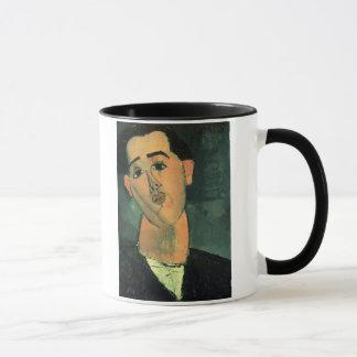 Portrait of Juan Gris (1887-1927) 1915 (oil on can Mug
