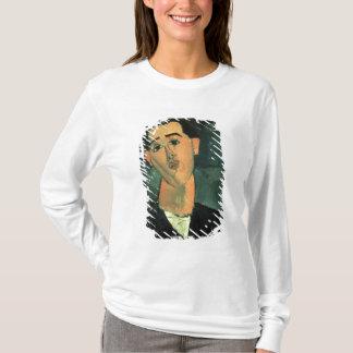 Portrait of Juan Gris (1887-1927) 1915 (oil on can T-Shirt