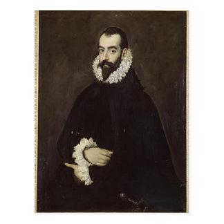 Portrait of Juan Pimentel y Herrera by El Greco Postcard
