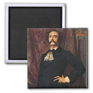 Portrait of Jules Barbey d'Aurevilly  1881 Magnet