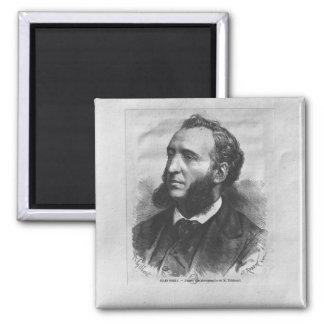 Portrait of Jules Ferry Refrigerator Magnet