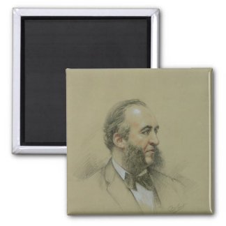 Portrait of Jules Ferry Magnets