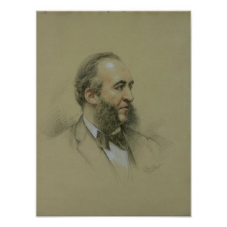 Portrait of Jules Ferry Poster
