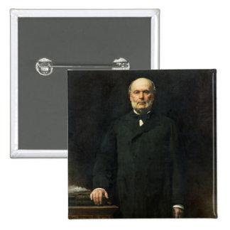 Portrait of Jules Grevy  1880 Button
