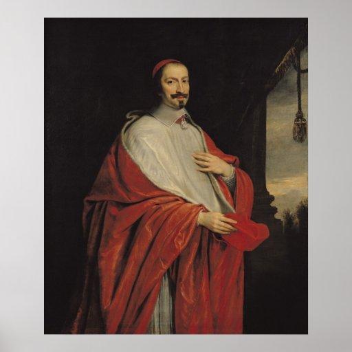 Portrait of Jules Mazarin Poster