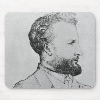 Portrait of Jules Verne  d Mouse Pad