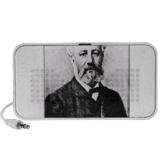 Portrait of Jules Verne Travelling Speakers