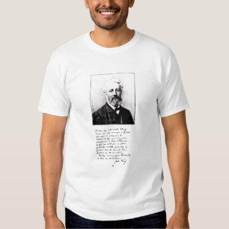 Portrait of Jules Verne Tee Shirt