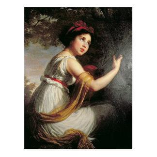 Portrait of Julie Le Brun c 1797 Postcards