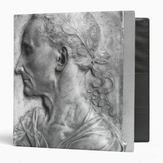 Portrait of Julius Caesar 3 Ring Binder